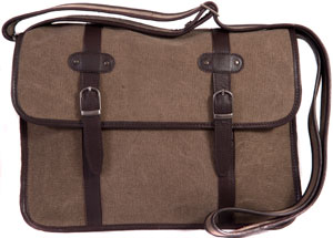 Large canvas Satchel